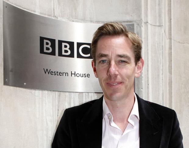 Tubridy stands in for Norton...Irish TV and Radio presenter Ryan Tubridy, at BBC Radio Centre, London