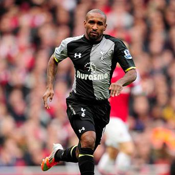 Jermain Defoe, pictured, would be more than happy to see David Beckham at Spurs