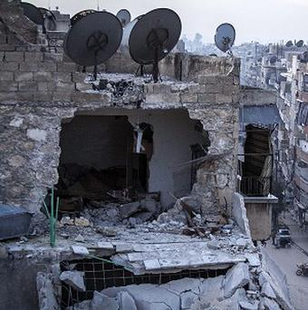 Internet and telephone lines remain cut across Syria for a second day as government troops and rebels clash in Damascus (AP)
