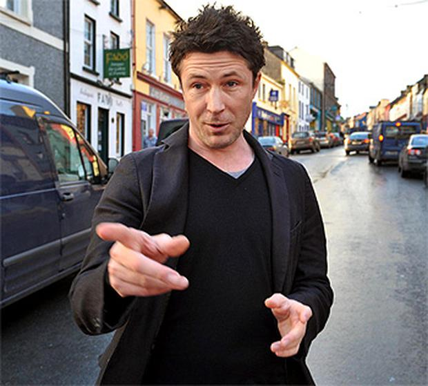 Aiden Gillen stars with Jack Gleeson and Maria Doyle Kennedy in John Carney's new film, Sing Street
