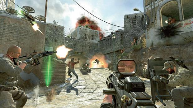 A scene from Call of Duty Black Ops 2