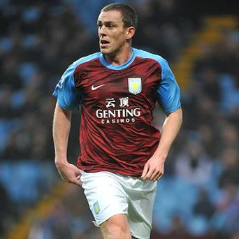 Richard Dunne has not featured for Villa yet this season