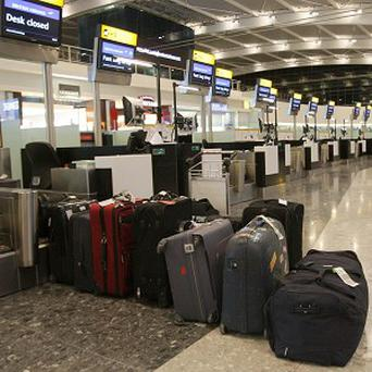 Around two-thirds of women use their partner's suitcase to cram in extra items, a survey shows