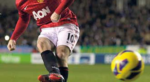 Rooney scores against Reading