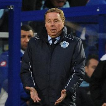 Harry Redknapp is desperate for QPR to secure a first win