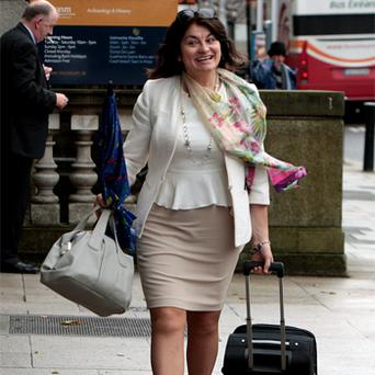 FG senator Fidelma Healy-Eames will return from China today