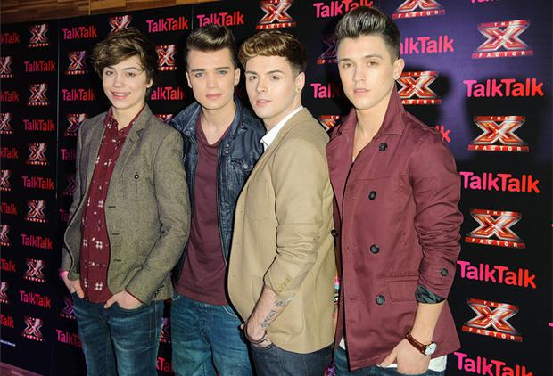 Union J have been voted off the X Factor. Photo: PA