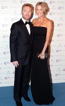 Ronan Keating and Storm Uechtritz at the event