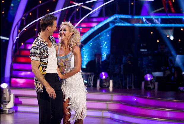 Former England cricket captain Michael Vaughan and dancing partner Natalie Lowe have been voted out of Strictly Come Dancing 2012. Photo: PA