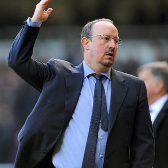 Rafael Benitez has yet to win as Chelsea boss