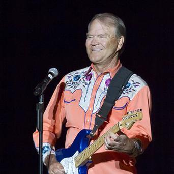 Glen Campbell performs during his Goodbye Tour in Little Rock (AP)