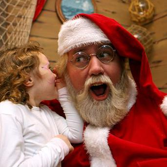 A survey has shown that children called Bradley and Paige might have to work harder to avoid Santa's naughty list