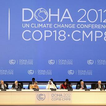 The US and China disagree over climate change policy (AP)