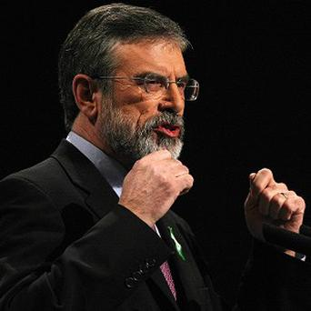 Unionists should embrace the Republic's new Constitutional Convention, Gerry Adams says