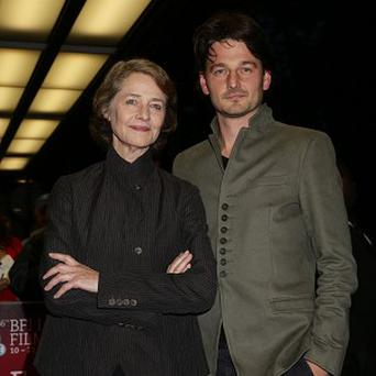 Charlotte Rampling and Barnaby Southcombe were desperate to get Gabriel Byrne for their film