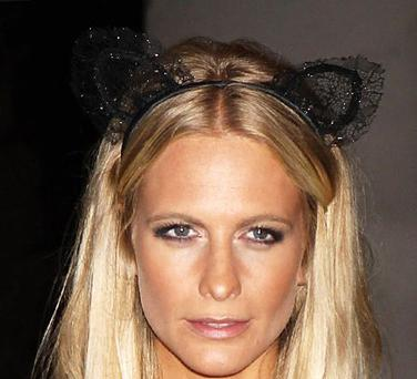 Even model Poppy Delevingne looks a bit silly wearing them