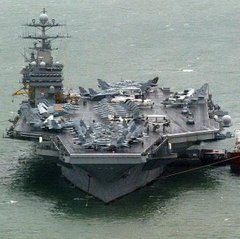 The US Navy's 5th Fleet, which is based in Bahrain, says it has not lost a drone