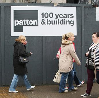 The collapse of Patton has led to 150 other jobs going at subcontractors
