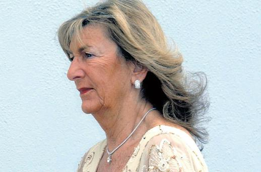 A file picture of Dunnes Stores supremo Margaret Heffernan. The store group has been involved in a second action backed by NAMA.