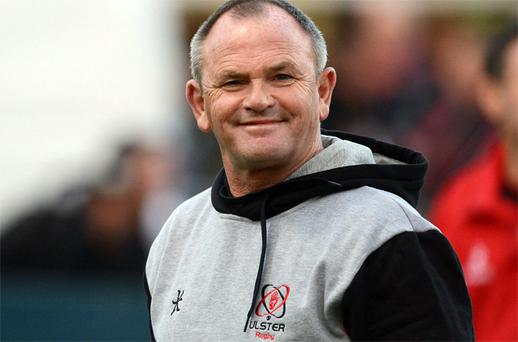 Ulster head coach Mark Anscombe. Photo: Sportsfile