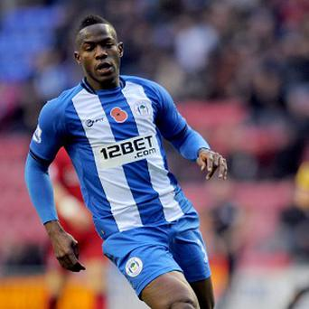 Maynor Figueroa, pictured, was sent off early on for Wigan for a challenge on Papiss Cisse