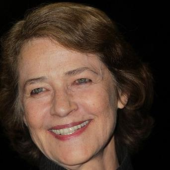 Charlotte Rampling broke her wrist before she started making I, Anna
