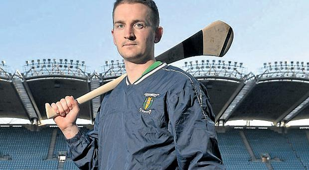 Kilcormac/Killoughy captain Ciaran Slevin will face Oulart-The Ballagh in the AIB Leinster SHC club championship final