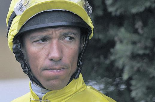 Frankie Dettori has much to ponder after his six-month ban for a failed drugs test