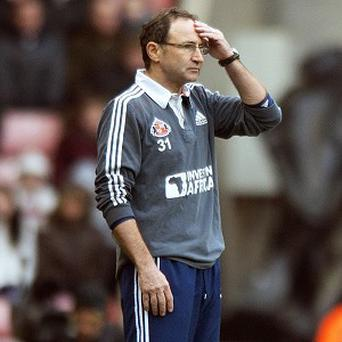 Martin O'Neill believes Sunderland's players need to have a strong mentality to survive