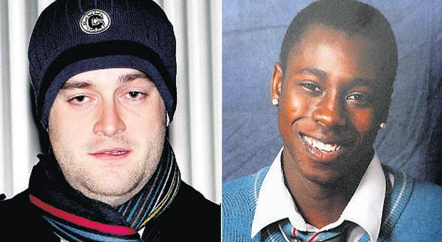 Accused Michael Barry and, right, Toyosi Shittabey
