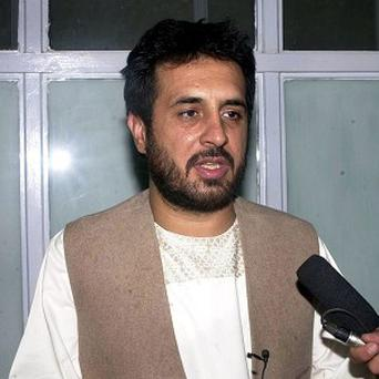 Asadullah Khalid was wounded in an assassination attempt in Kabul, Afghan officials said (AP)