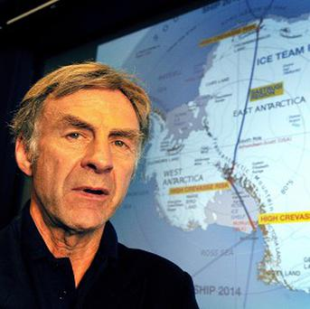 Sir Ranulph Fiennes has been described by the Guinness Book of Records as 'the world's greatest living explorer'