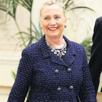 Hillary Clinton: avoided the question everyone is asking