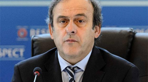 UEFA president Michel Platini. Photo: AP