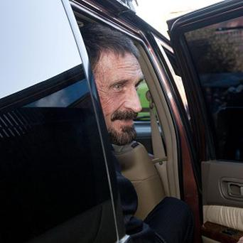 John McAfee was arrested in Guatemala City (AP)