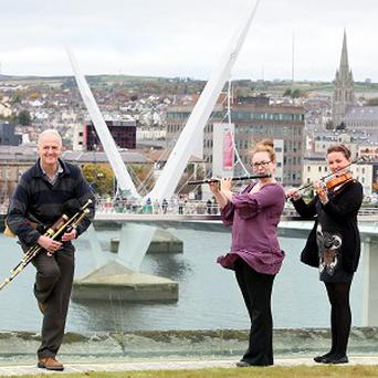 It is hoped the Londonderry UK City of Culture programme will help revive tourism in Northern Ireland