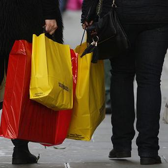 Many people are taking time off to finish their Christmas shopping, a study says