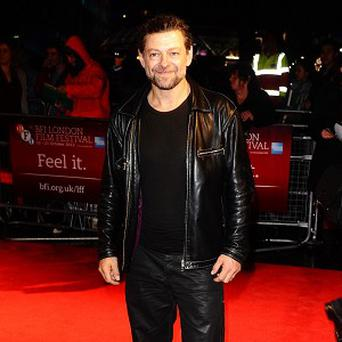 Andy Serkis had to play an earlier version of Gollum in the Hobbit film