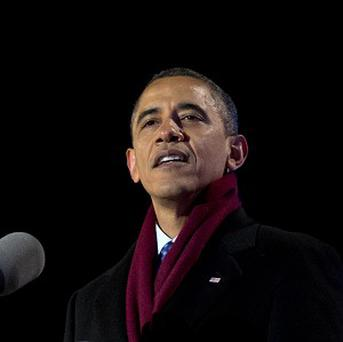 Barack Obama has called for government spending cuts but by less than the Republicans want (AP/Carolyn Kaster)