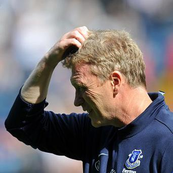 Manager David Moyes admits Everton have let some crucial points slip in drawn games