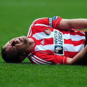 Lee Cattermole is sidelined for two months with a knee injury