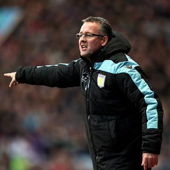 Paul Lambert is not worried by Aston Villa's barren run in front of goal