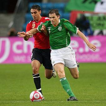 Kevin Kilbane made his last appearance for Ireland in 2011