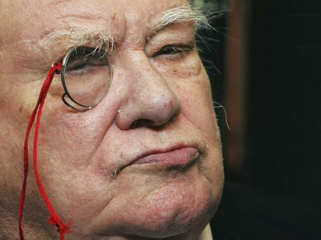 Patrick Moore, who has died aged 89. Photo: Getty Images