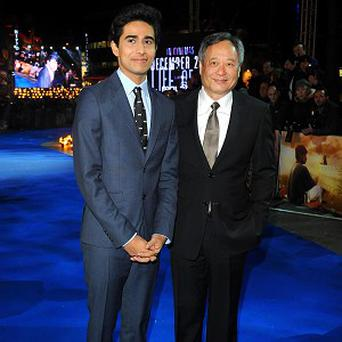 Suraj Sharma and Ang Lee worked together on Life of Pi
