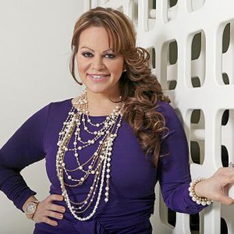 Mexican-American singer Jenni Rivera is believed to have died in an air crash (AP)