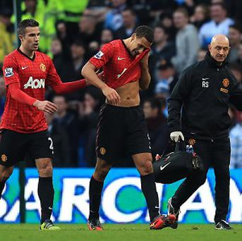 David Bernstein said the incident involving Rio Ferdinand, centre, being struck was 'deplorable'
