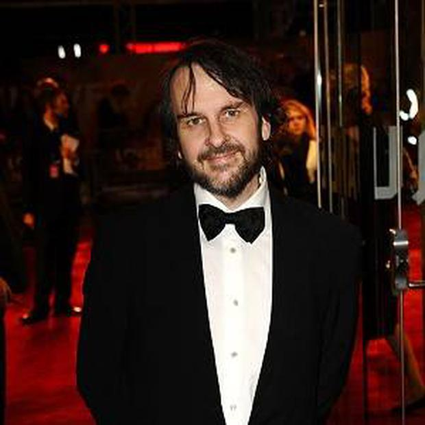 Peter Jackson ahead of the premiere of The Hobbit.