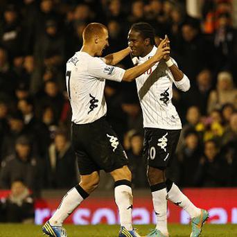 Hugo Rodallega, right, and Steve Sidwell scored as Fulham beat Newcastle