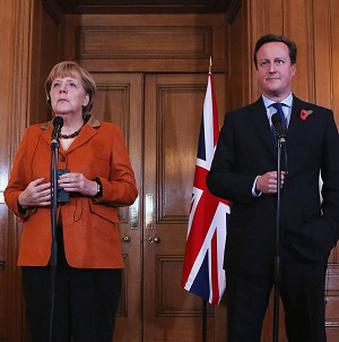 David Cameron said the talks helped establish an alliance between the UK and other net contributors to EU coffers, including Germany